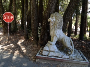 The Lion Stops at the Entrance