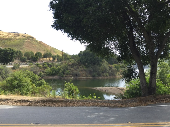 Stevens Creek Reservoir, near the quarry