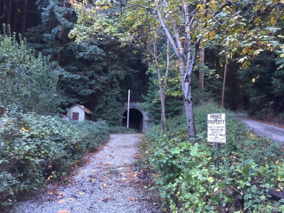 The Laurel Train tunnel